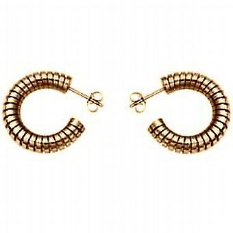 9ct Gold Snake Body Earrings