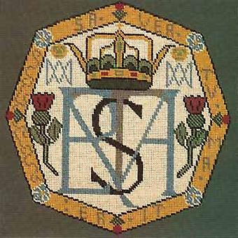 Mary Queen of Scots - Monogram Needlepoint Kit