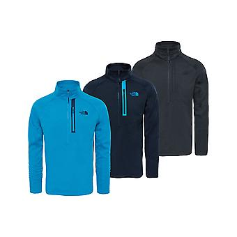 De North Face Mens Canyonlands Half Zip Fleece
