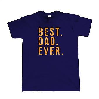 Beste vader ooit, Mens T-shirt - Stijlvolle fashion cadeau voor hem Vaders Dag Aanwezig
