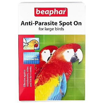 Beaphar Anti-Parasite Spot On For Large Birds 4 week Treatment