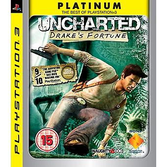 Uncharted Drakes Fortune - Platinum Edition (PS3) - Nouveau