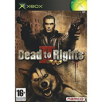 Dead to Rights II (Xbox)-nytt