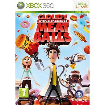 Overskyet med en chance for kødboller (Xbox 360)-fabriks forseglet