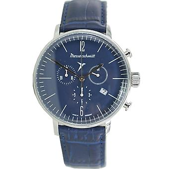 Aristo Messerschmitt mens watch chronograph Aviator watch ME-4 H 153
