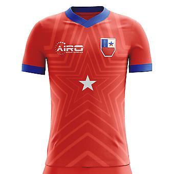 2020-2021 Chile Home Concept Football Shirt
