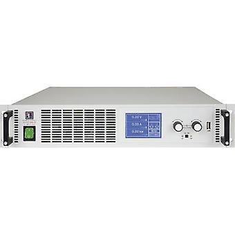 EA Elektro-Automatik EA-PS 9040-120 2U Bench PSU (adjustable voltage) 0 - 40 V DC 0 - 120 A 3000 W USB , Ethernet, Analogue No. of outputs 1 x