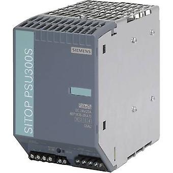 Siemens SITOP PSU300S 24 V/20 A Rail mounted PSU (DIN) 24 V DC 20 A 480 W 1 x