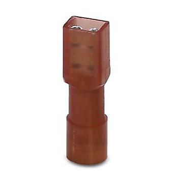 Phoenix kontakt 3240534 blad beholder kontakten bredde: 2,8 mm kontakt tykkelse: 0,5 mm 180 ° isolert Red 50 eller flere PCer