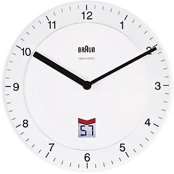 Braun BNC006 WHWH 66013 8 Radio Wall clock 20 cm White