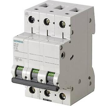 Siemens 5SL6316-7 disjoncteur 3 pôles 16 A 400 V
