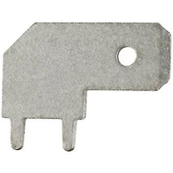 Conector de hoja Klauke 2035 ancho PCB SMD conector: 6.3 mm espesor del conector: 0,8 mm 90 ° no aislada del Metal 1 PC