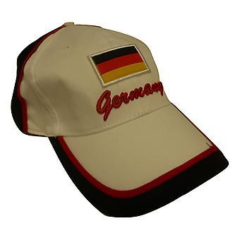 جاك الاتحاد ارتداء قبعة بيسبول العلم الألماني