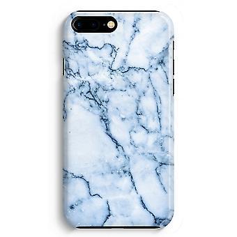 iPhone 8 Plus pełna obudowa głowiczki (błyszcząca) - Blue marble