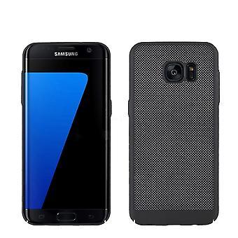 Telefono cellulare custodia per Samsung Galaxy S7 bordo Borsa Custodia cover custodia nera