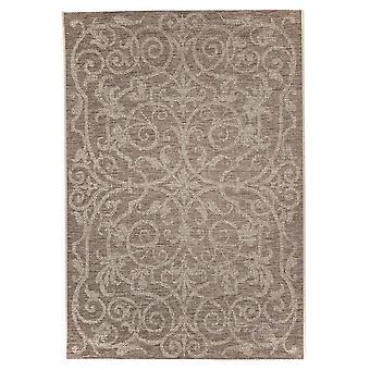 Utomhus mattan för terrass / balkong mattan inomhus / utomhus - för inomhus och utomhus vardagsrum, brun beige 160 X 230