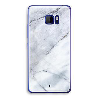 HTC U Ultra przezroczysty (Soft) - marmur biały