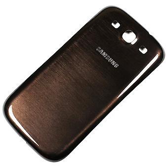 OEM Samsung Galaxy S3 batterij deur - Verizon Logo - Brown