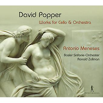 Popper / Meneses / Zollman / Basler - Works for Cello & Orch [CD] USA import