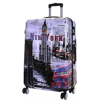 Karabar Falla Large 76 cm Hard Suitcase, New York