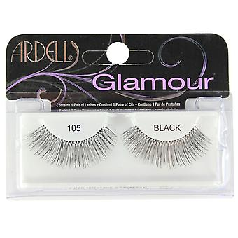 Ardell Glamour valse wimpers 105 Demi Black