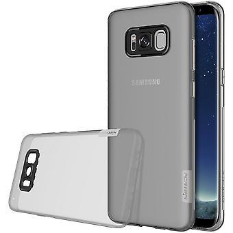 NILLKIN Samsung Galaxy S8 plus natuur serie 0,6 mm TPU-grijs