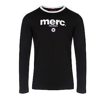 Merc Fight Mens de T-Shirt 100 % coton, logo de l'entreprise impression