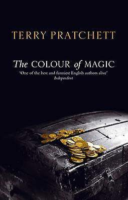 The Colour of Magic - (Discworld Novel 1) by Terry Pratchett - 9780552