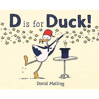 D is voor eend! door David Melling - 9781444931099 boek