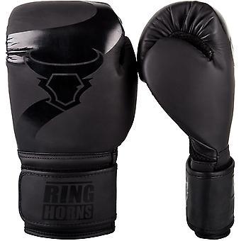 Ringhorns Charger Boxing Gloves Black/Black