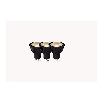 Lucide LED-Lampe moderne Reflektor synthetischen Material schwarz und transparent-LED-Lampe