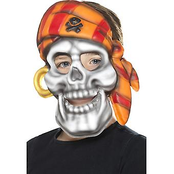 Maschera teschio pirata