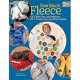 Sew Much Fleece: 20 Fast, Fun, and Fabulous Projects for the Whole Family (That Patchwork Place)