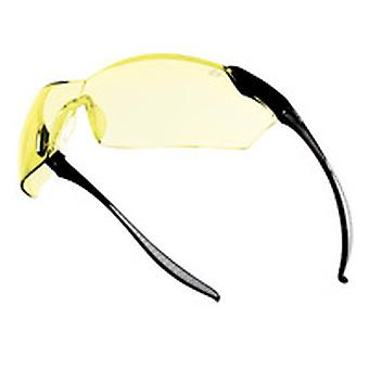Bolle MAMPSJ Mamba Glasses (Yellow) Anti-Scratch & Fog Lens