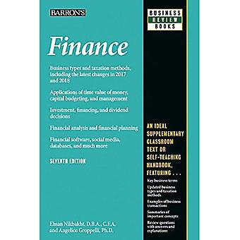 Finance (Barron's Business Review)