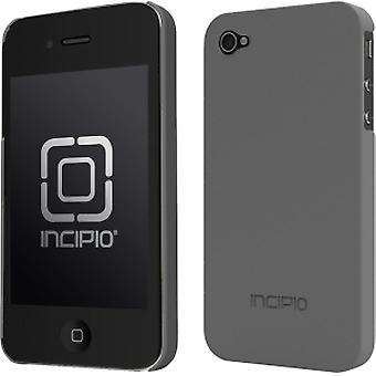Incipio Feather Case for iPhone 4 - Pearl Metallic Gray