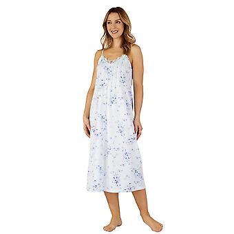 Slenderella ND3120 Women's Jersey natt kjole Loungewear Nightdress