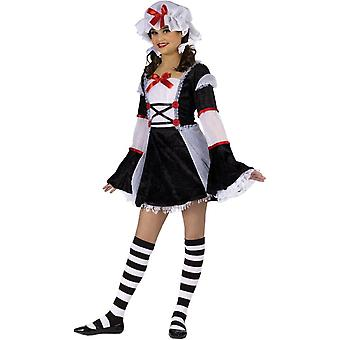 Teen Girls Sweet Rag Doll Costume