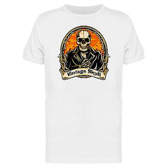 Flaming Vintage Skull Tee Men's -Image by Shutterstock