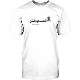 B29 Super Fortress - WW2 epischen Krieg Flugzeug Herren T Shirt