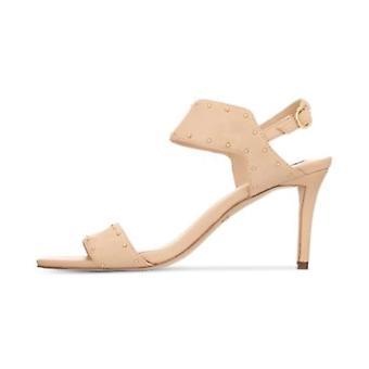 DKNY naisten Seana nahka avoin kärki rento Slingback sandaalit