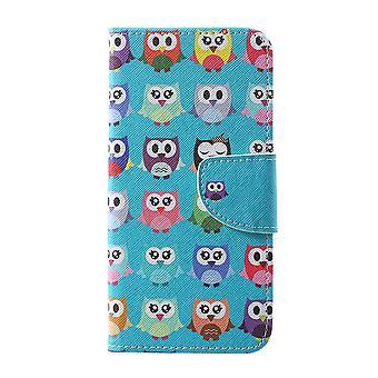Samsung Galaxy S10 + billetera Case-Multiple Owls