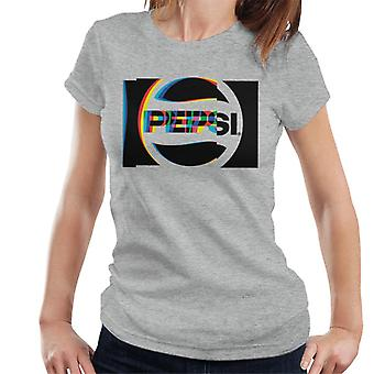 Pepsi 80s Glitch Logo Women's T-Shirt
