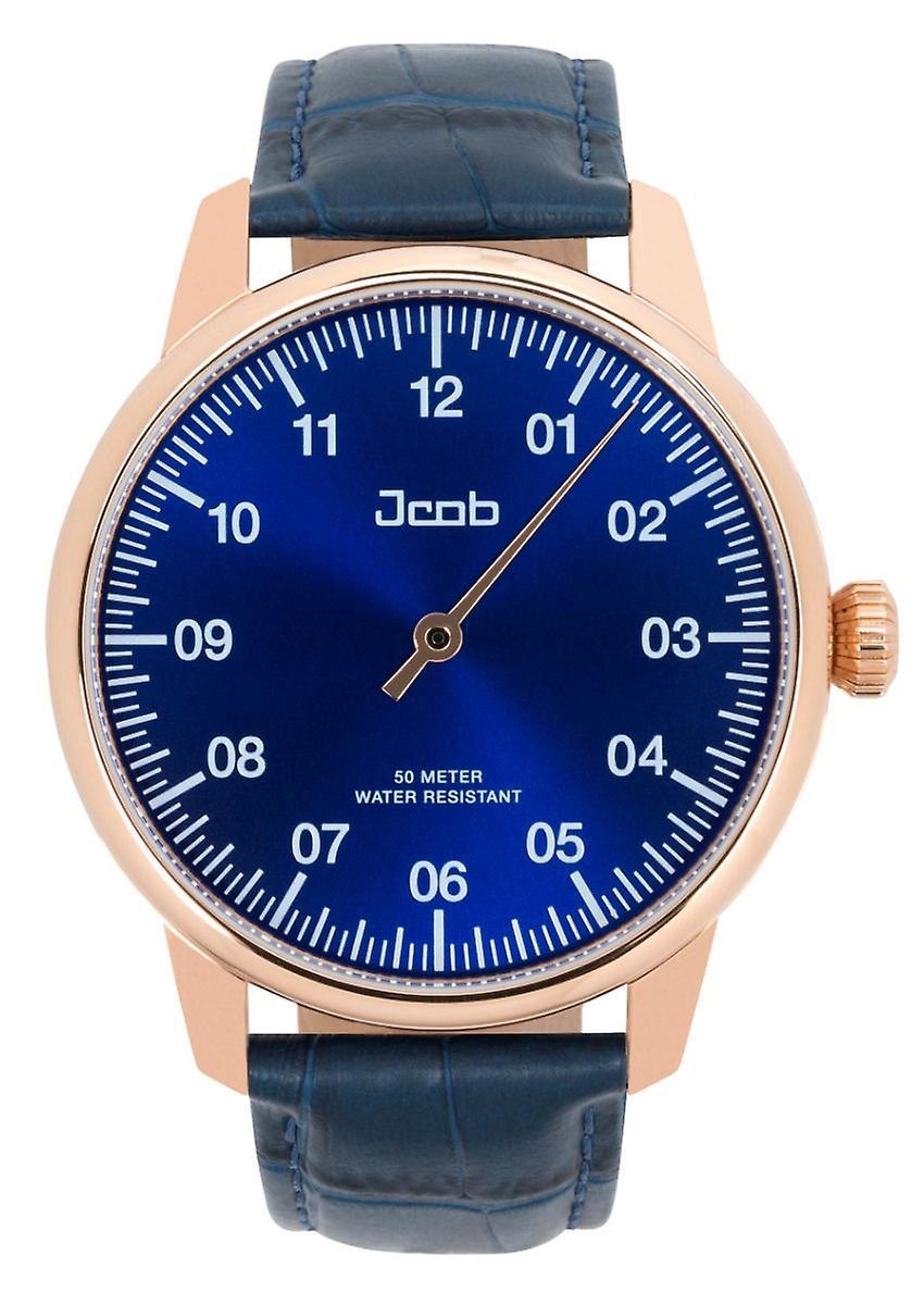 Jacob Jcw004-Lr03 Einzeiger Rose Gold/Blue Mens Watch
