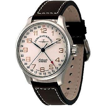 Zeno-Watch Herrenuhr OS Retro Automatic Pointer Date 8554Z-pol-f2