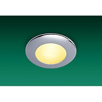 Firstlight-1 baño ligero techo Downlight cromo IP64-5593CH