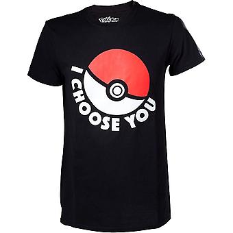 T-shirt de Pokémon «I Choose You» pour hommes
