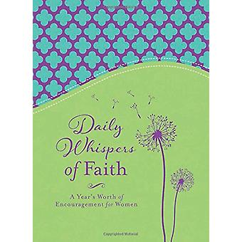 Daily Whispers of Faith by Barbour Publishing - 9781683220190 Book
