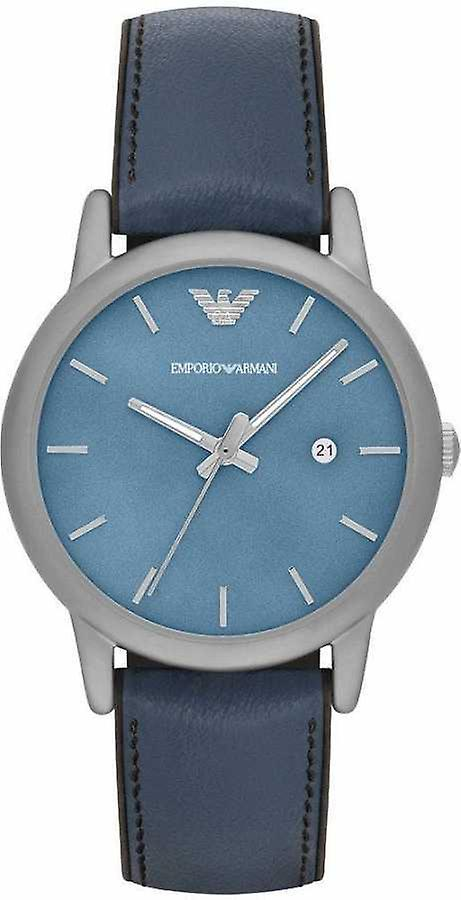 Emporio Armani Ar1972 Classic Blue Dial Men's Casual Watch