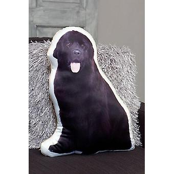 Adorable newfoundland shaped cushion